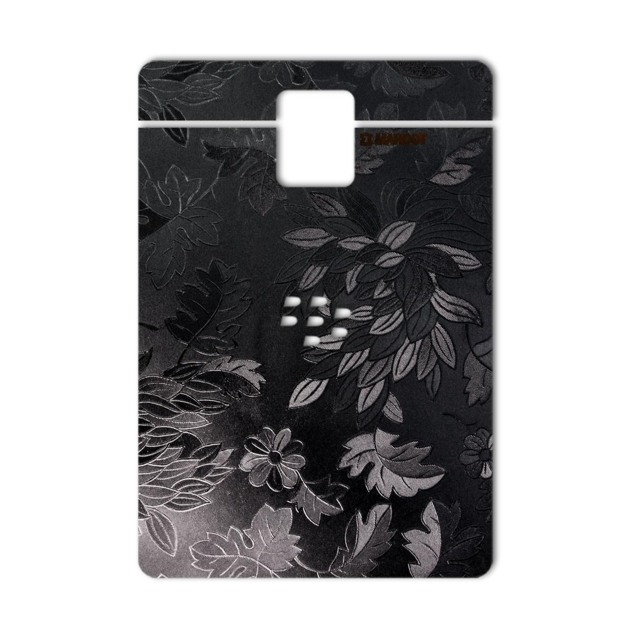 برچسب پوششی ماهوت مدل Wild-flower Texture مناسب برای گوشی  BlackBerry Passport