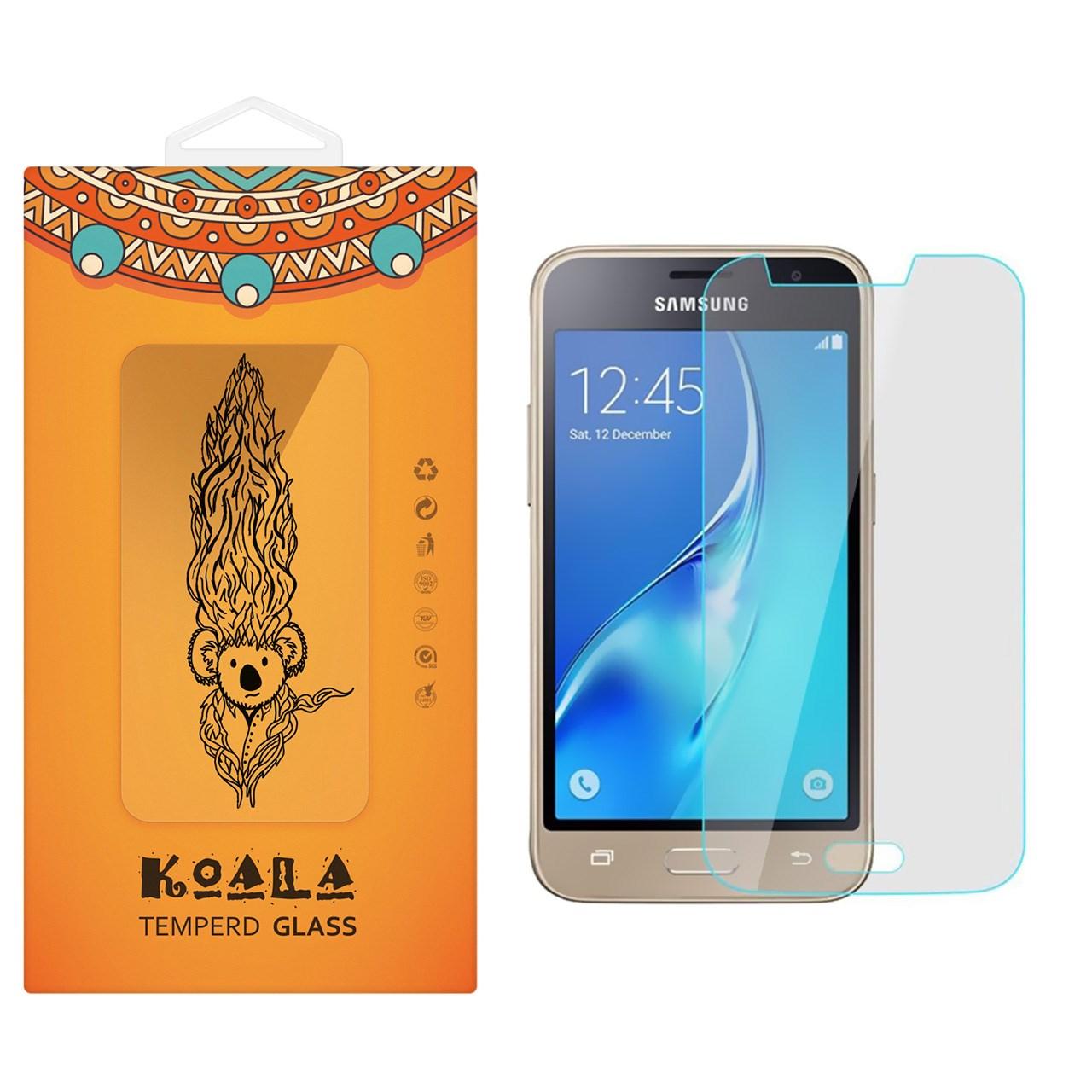 محافظ صفحه نمایش شیشه ای کوالا مدل Tempered مناسب برای گوشی موبایل سامسونگ Galaxy J1 Mini Prime              ( قیمت و خرید)