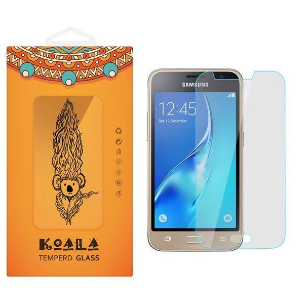 محافظ صفحه نمایش شیشه ای کوالا مدل Tempered مناسب برای گوشی موبایل سامسونگ Galaxy J1 Mini Prime