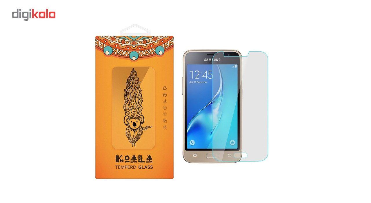 محافظ صفحه نمایش شیشه ای کوالا مدل Tempered مناسب برای گوشی موبایل سامسونگ Galaxy J1 Mini Prime main 1 1