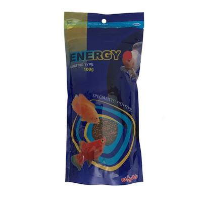 غذای خشک ماهی انرژی مدل001 وزن 100 گرم