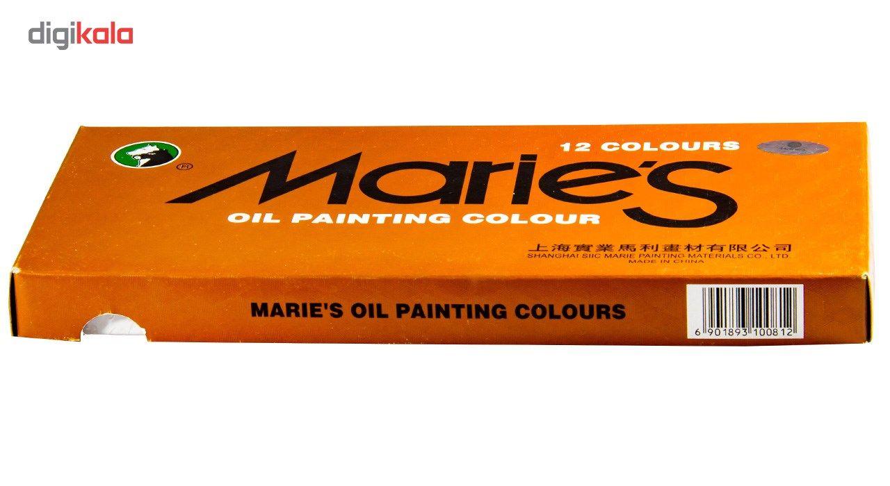 رنگ روغن 12 رنگ ماریس حجم 12 میلی لیتر main 1 3