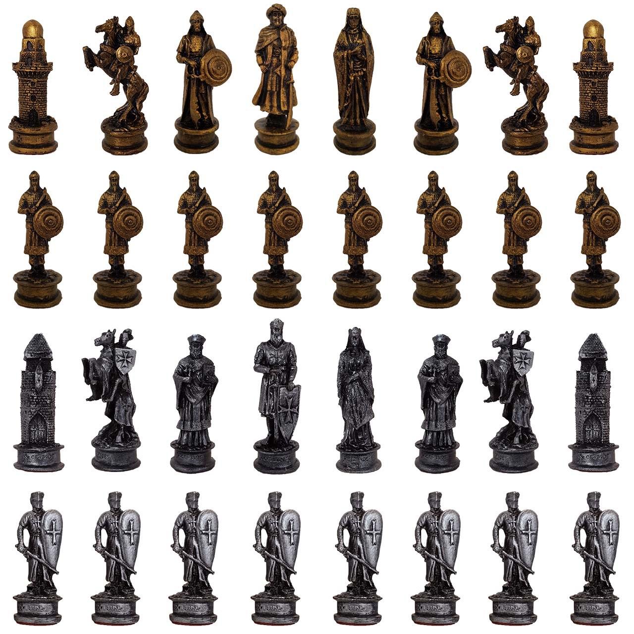 ست مهره شطرنج برتاریو مدل 9632