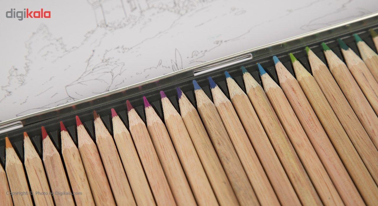 مداد رنگی 36 رنگ آریا مدل 3023 main 1 3