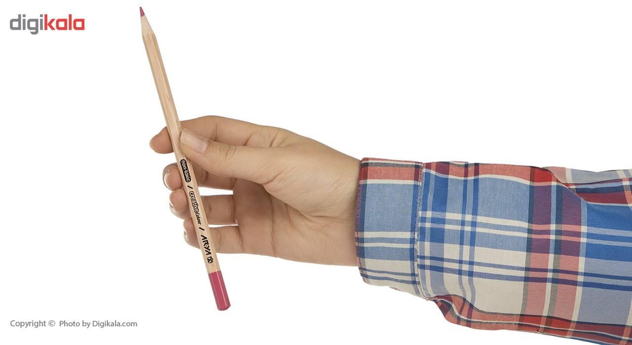 مداد رنگی 36 رنگ آریا مدل 3023 main 1 6