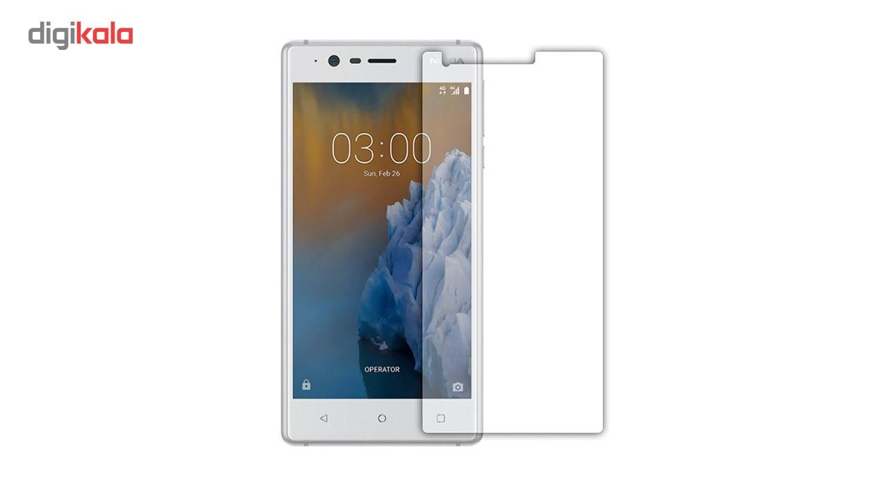 محافظ صفحه نمایش شیشه ای مدل Tempered مناسب برای گوشی موبایل نوکیا 3 main 1 1