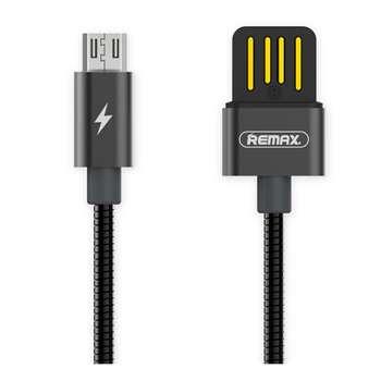 کابل تبدیل USB به MicroUSB ریمکس مدل RC-080m طول 1 متر