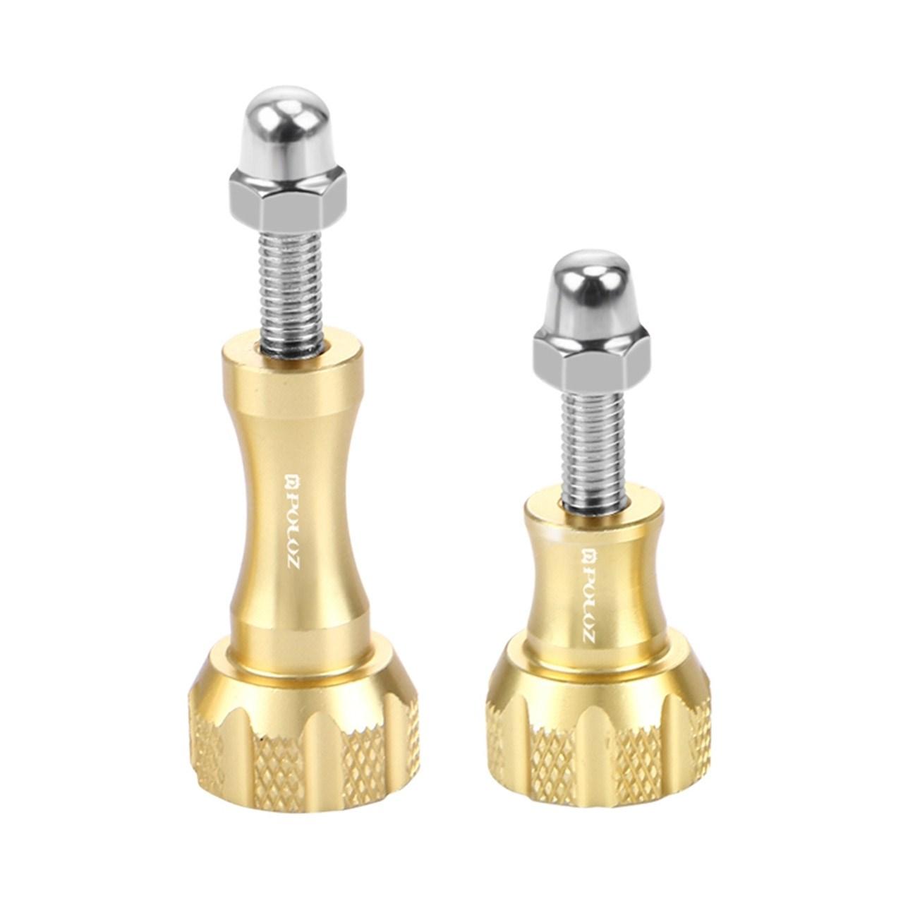 پیچ  آلومینیومی پلوز مدل Screw Set  مناسب برای دوربین ورزشی بسته 2 عدد