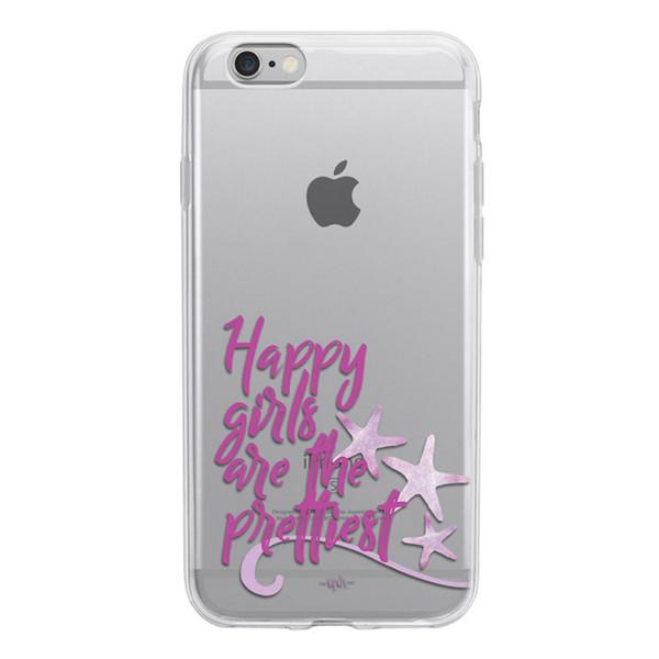 کاور ژله ای  وینا مدل Happy Girls Are The Prettiest  مناسب برای گوشی موبایل آیفون6/6S