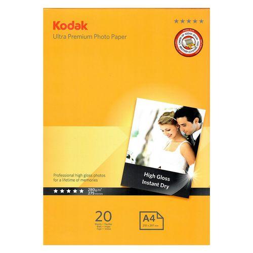 کاغذ عکس کداک مدل Ultra Premium سایز A4 بسته 20 عددی