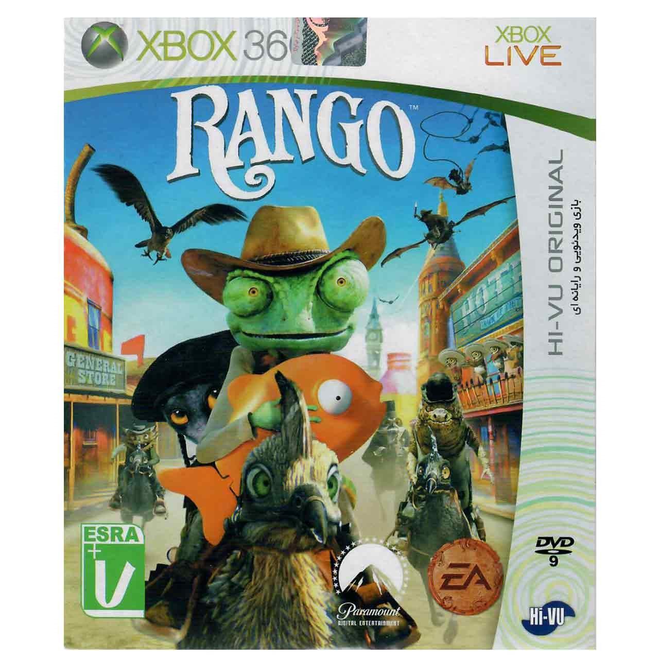بررسی و {خرید با تخفیف}                                     بازی Rango مخصوص ایکس باکس 360                             اصل