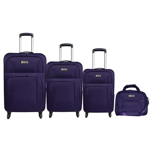 مجموعه سه عددی چمدان الکسا مدل ALX2068 همراه با ساک دستی