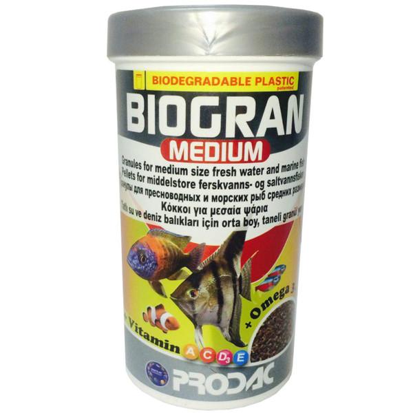 غذای ماهی پروداک مدل Biogran Medium وزن 100 گرم