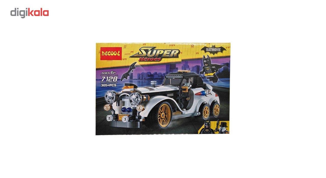 ساختنی دکول سری Super Heroes 7128کد KTS-024 تعداد 305 تکه