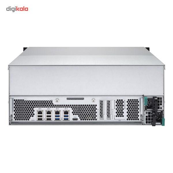 ذخیره ساز تحت شبکه کیونپ مدل TS-EC2480U-RP بدون هارددیسک