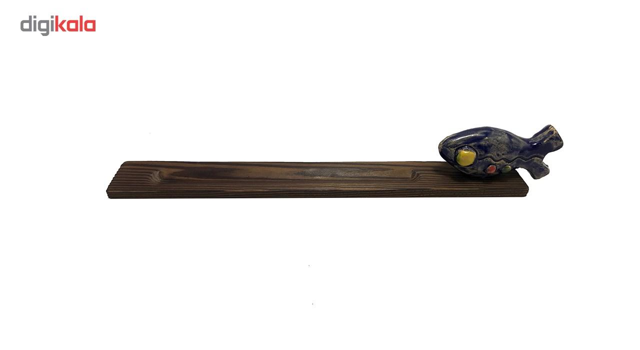 جاعودی چوبی ایرسا طرح ماهی تشنه