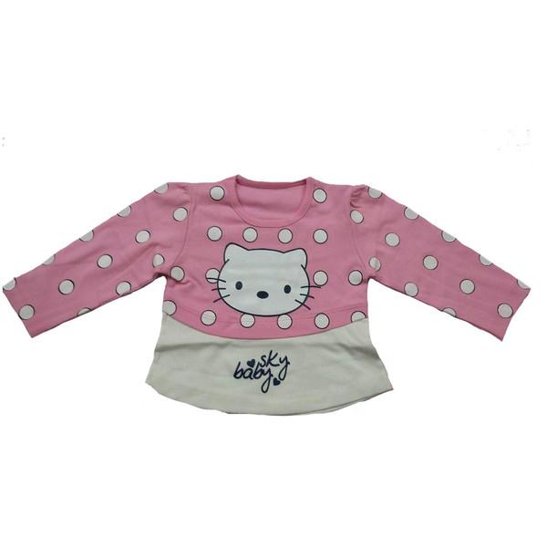 لباس کودک دخترانه بیبی اسکای مدل کیتی SO-35