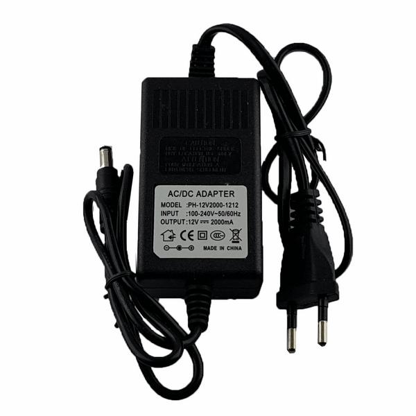 منبع تغذیه 12 ولت 2 آمپر مدل PH-12V2000-1212