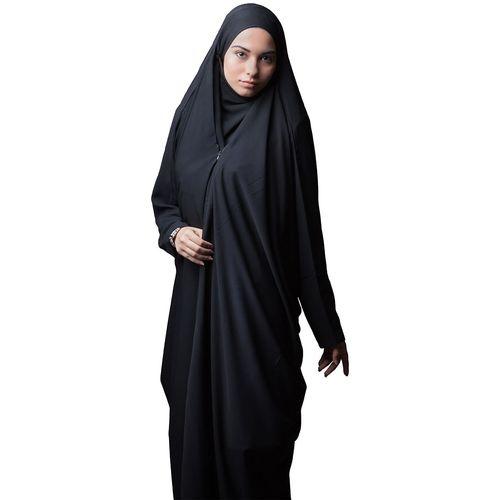 چادر لبنانی خاویاری صدف حجاب فاطمی مدل 201059kh