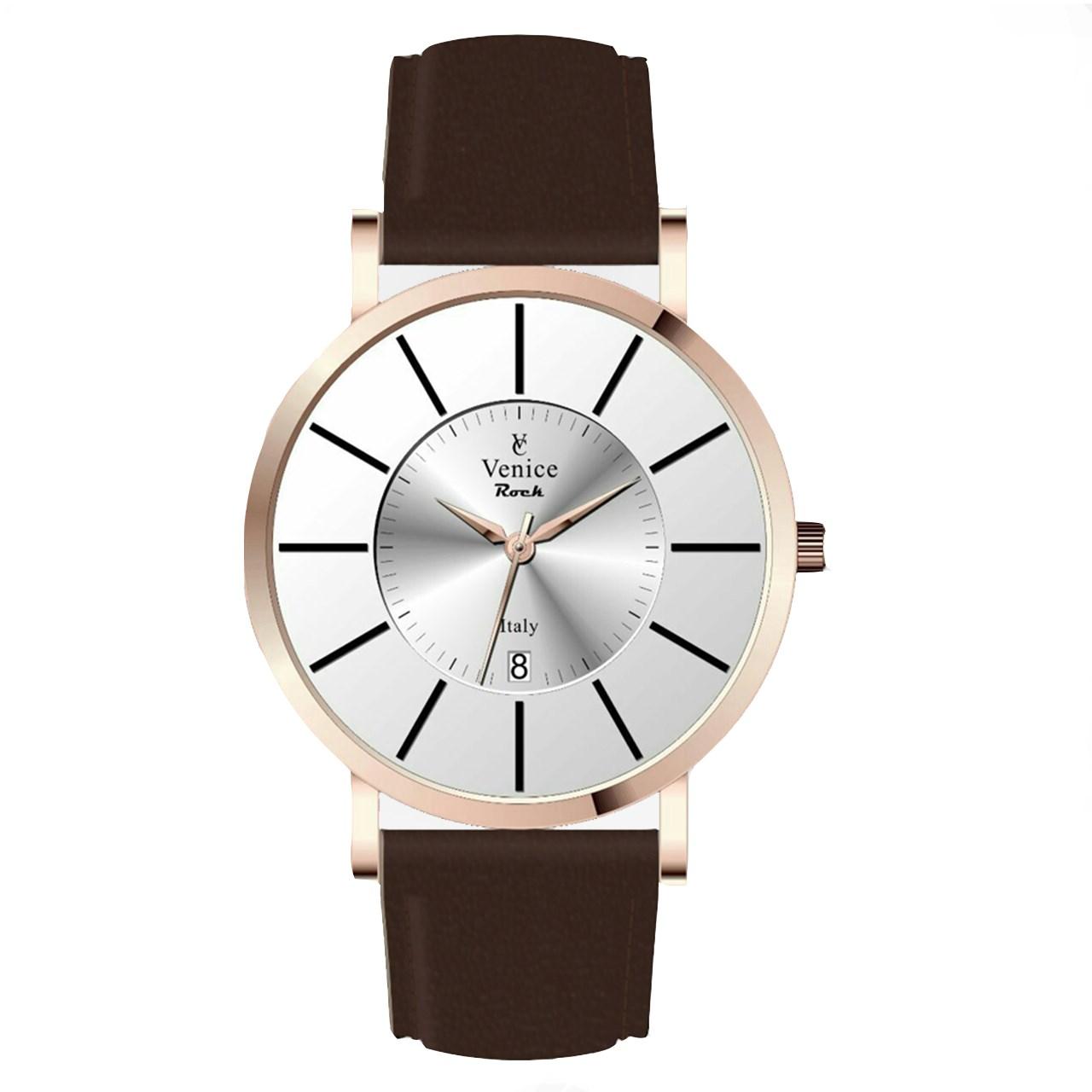 ساعت مچی عقربه ای ونیز مدل v8153 34