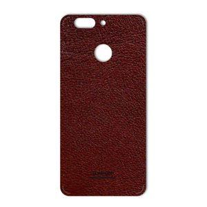 برچسب تزئینی ماهوت مدلNatural Leather مناسب برای گوشی  Huawei Nova 2 Plus