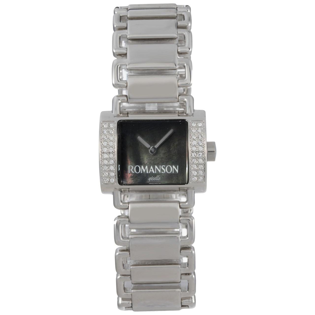 ساعت مچی عقربه ای زنانه رومانسون مدل RM8220TL1WM32W
