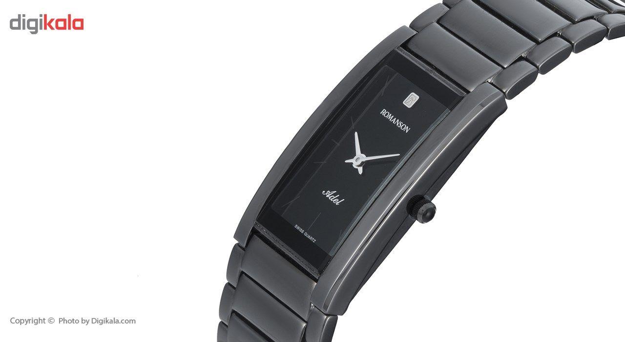 ساعت مچی عقربه ای زنانه رومانسون مدل TM0141MM1BA32W -  - 3