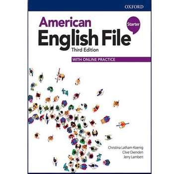 کتاب American English File 3rd Edition Starter اثر جمعی از نویسندگان انتشارات هدف نوین
