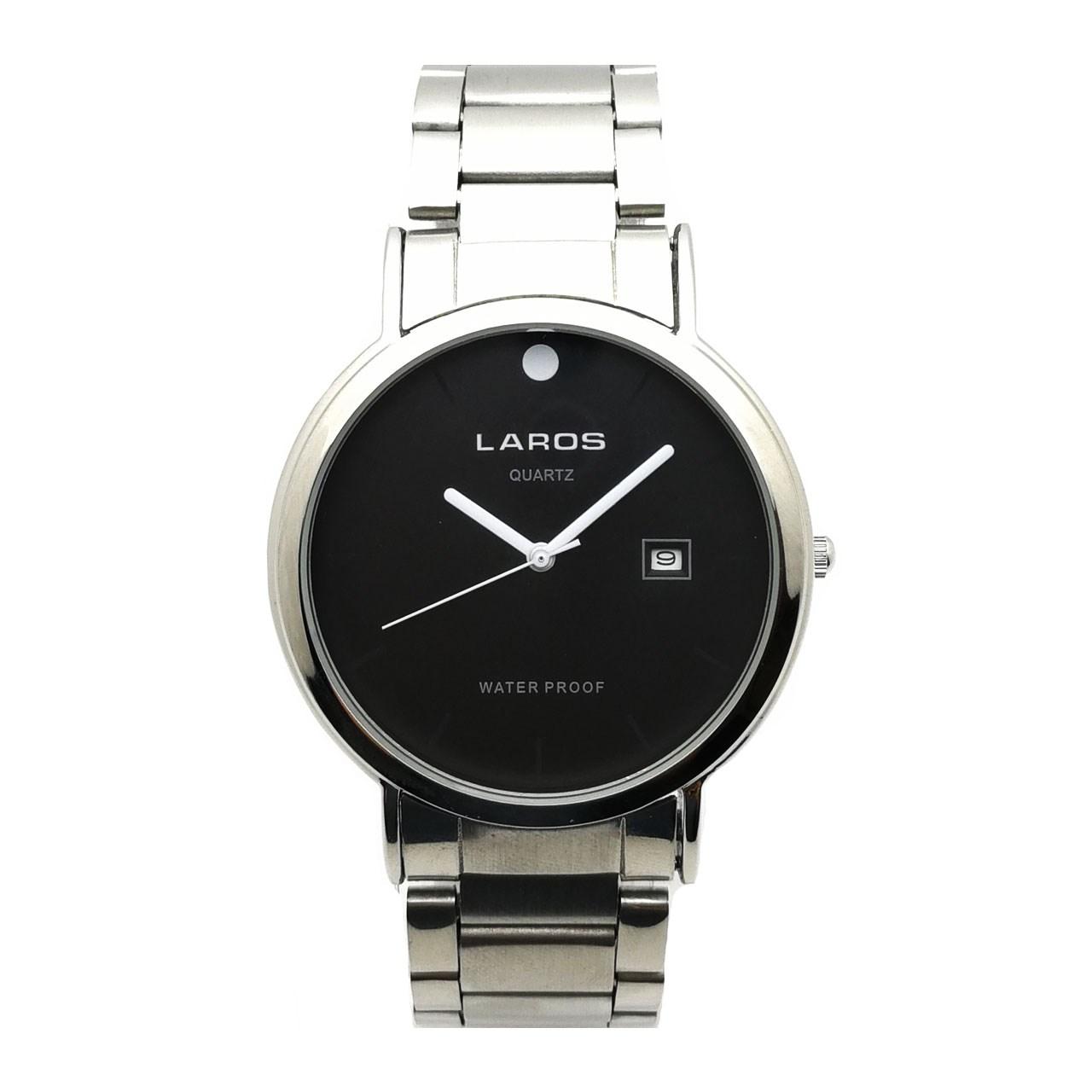 قیمت و خرید                      ساعت مچی عقربه ای مردانه لاروس مدل LM-N613-Black
