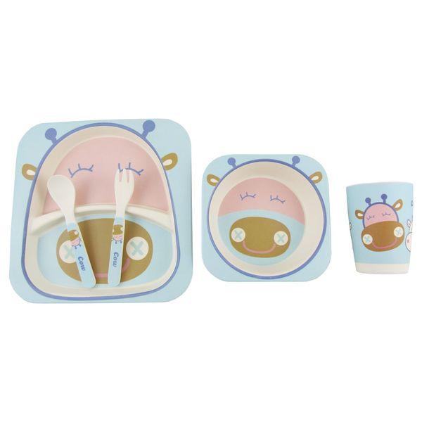 ست 5 پارچه کودک بامبو فیبر مدل 467009776
