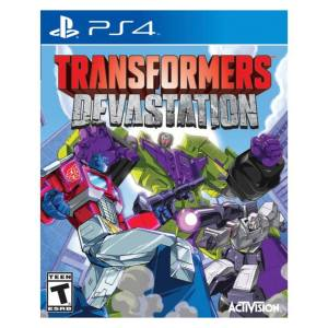 بازی Transformers Devastation مخصوص PS4