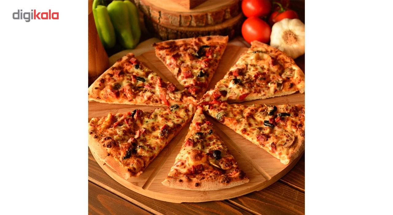 تخته سرو پیتزا بامبوم مدل B0123