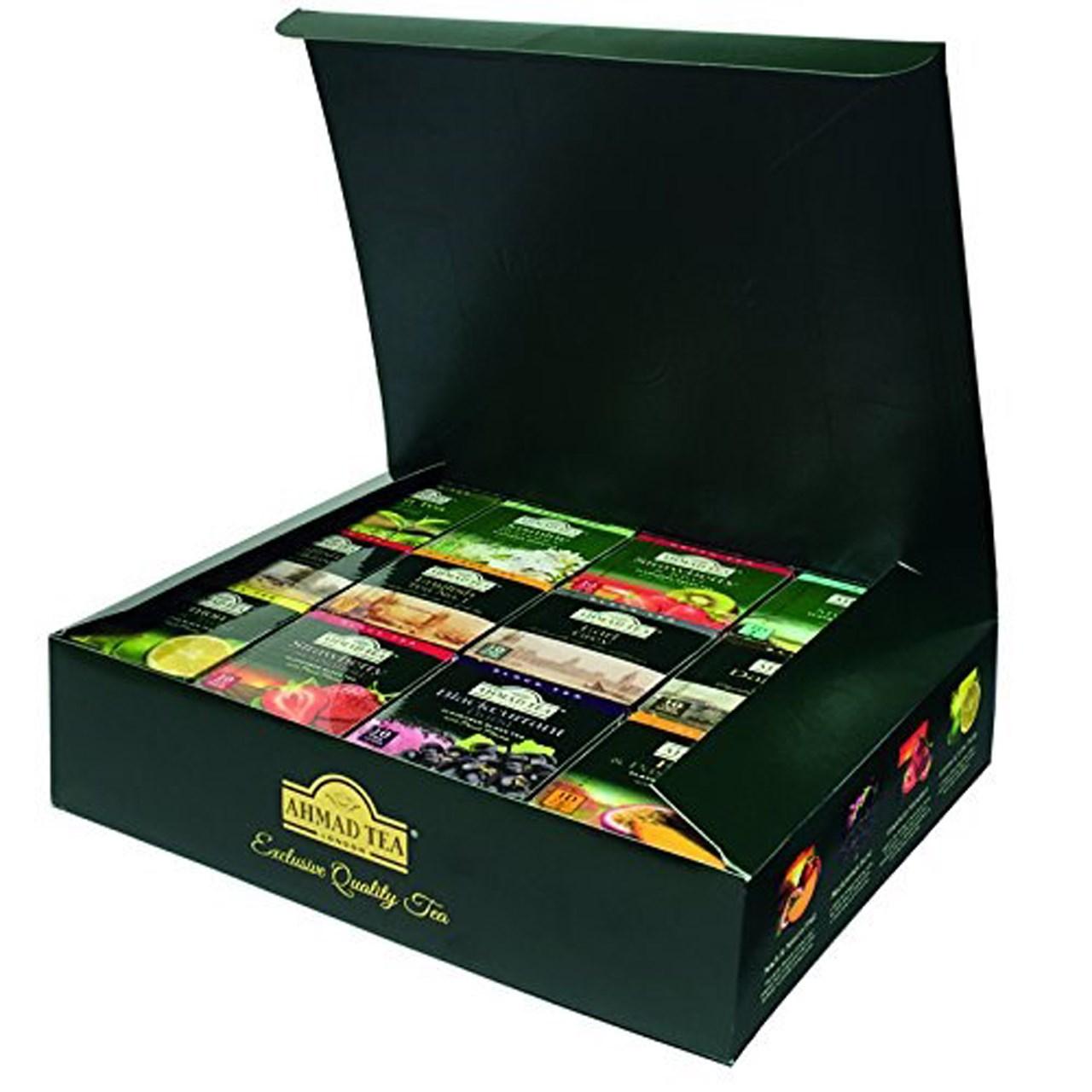 بسته چای کیسه ای چای احمد مدل Tea Master دوازده بسته 10 عددی