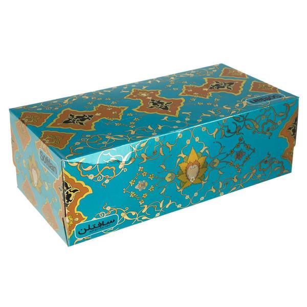 دستمال کاغذی 150 برگ سافتلن مدل Afshar