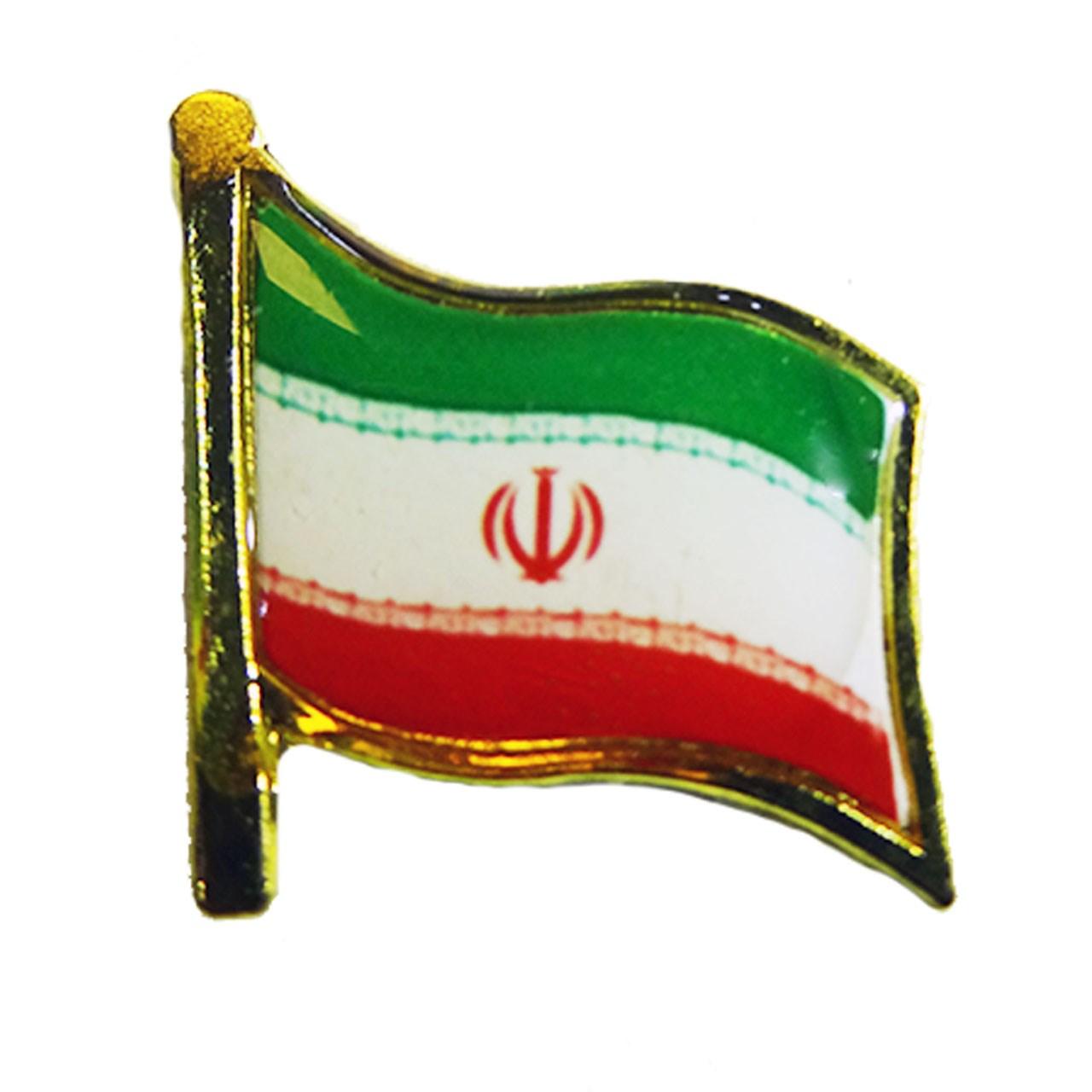 بج سینه طرح  پرچم ایران