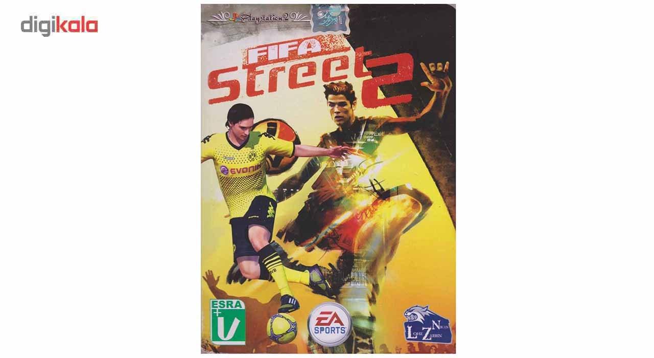 خرید اینترنتی بازی FIFA Street 2 مخصوص PS2 اورجینال