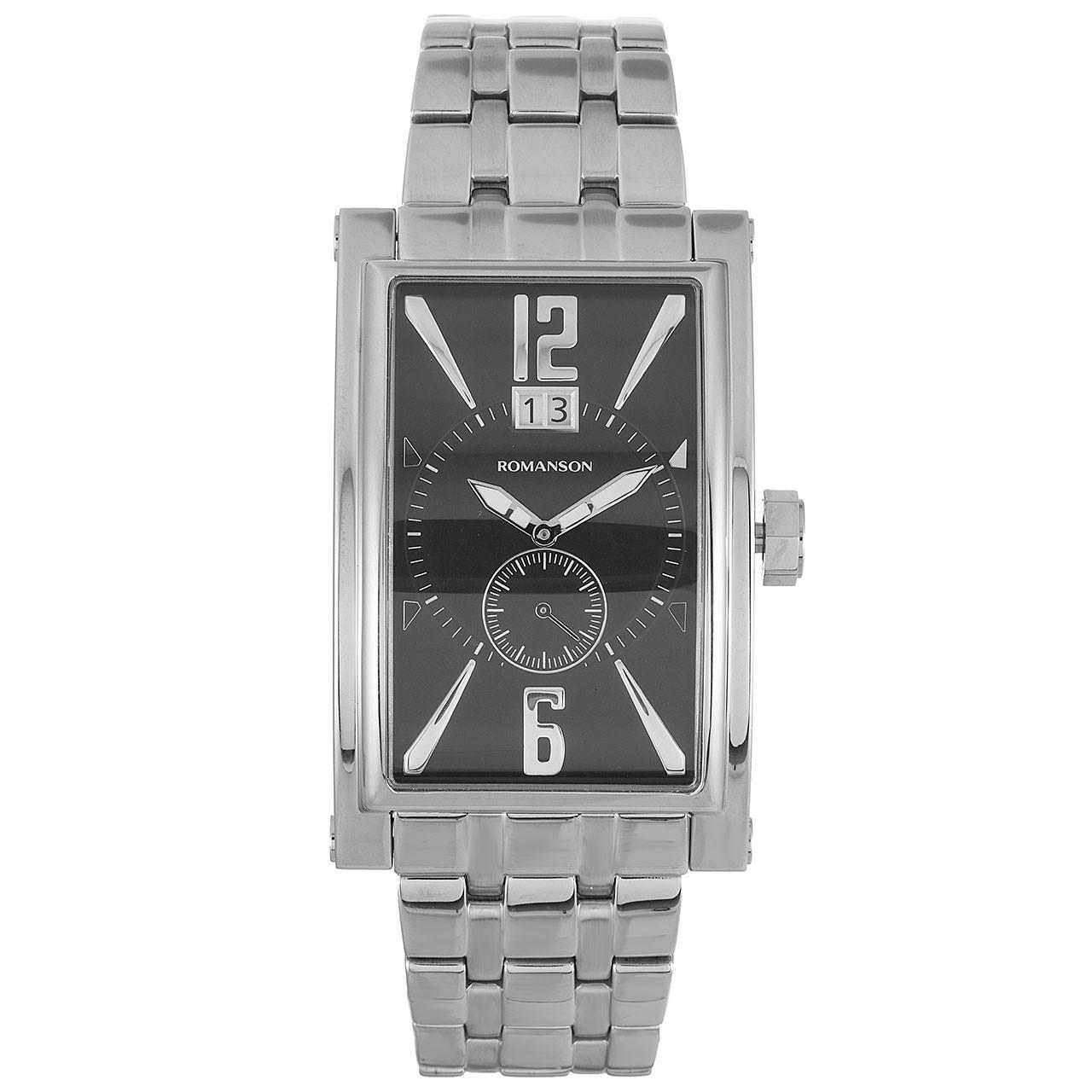ساعت مچی عقربه ای مردانه رومانسون مدل TM8901UM1WA32W 56