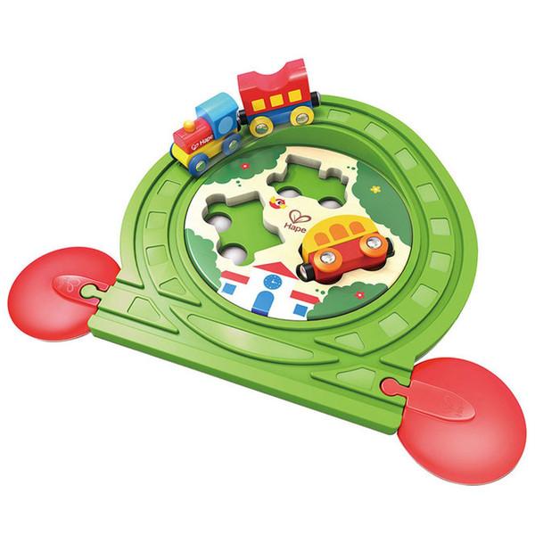 قطار اسباب بازی هپه مدل Track Puzzle
