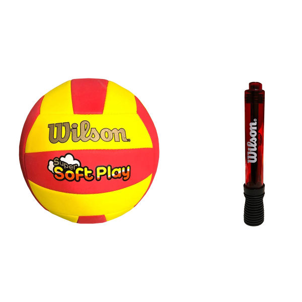 توپ والیبال ویلسون مدل WTH-3509 به همراه تلمبه