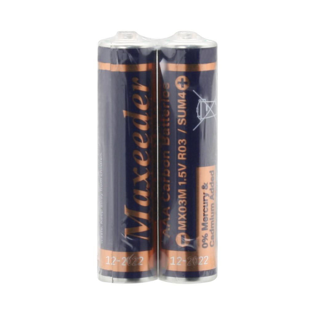 بررسی و {خرید با تخفیف} باتری نیم قلمی مدل Ultra Heavy Duty MX03M بسته 2 عددی غیر اصلاصل