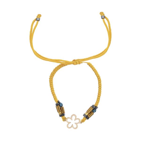 دستبند طلا 18 عیار زنانه نیوانی مدل Ba1038