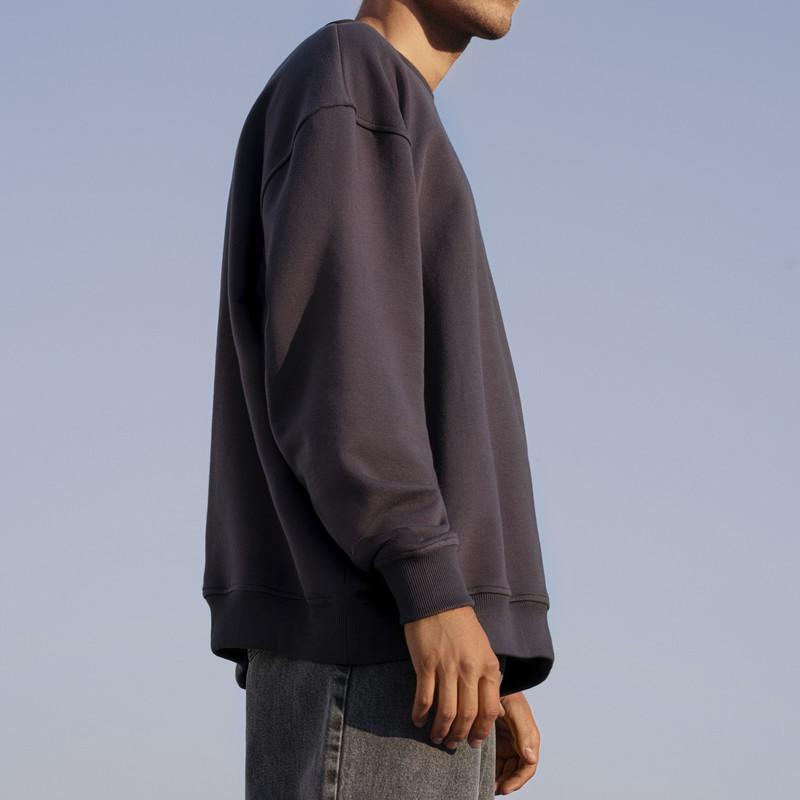 سویشرت مردانه کوی مدل 402 رنگ زغالی