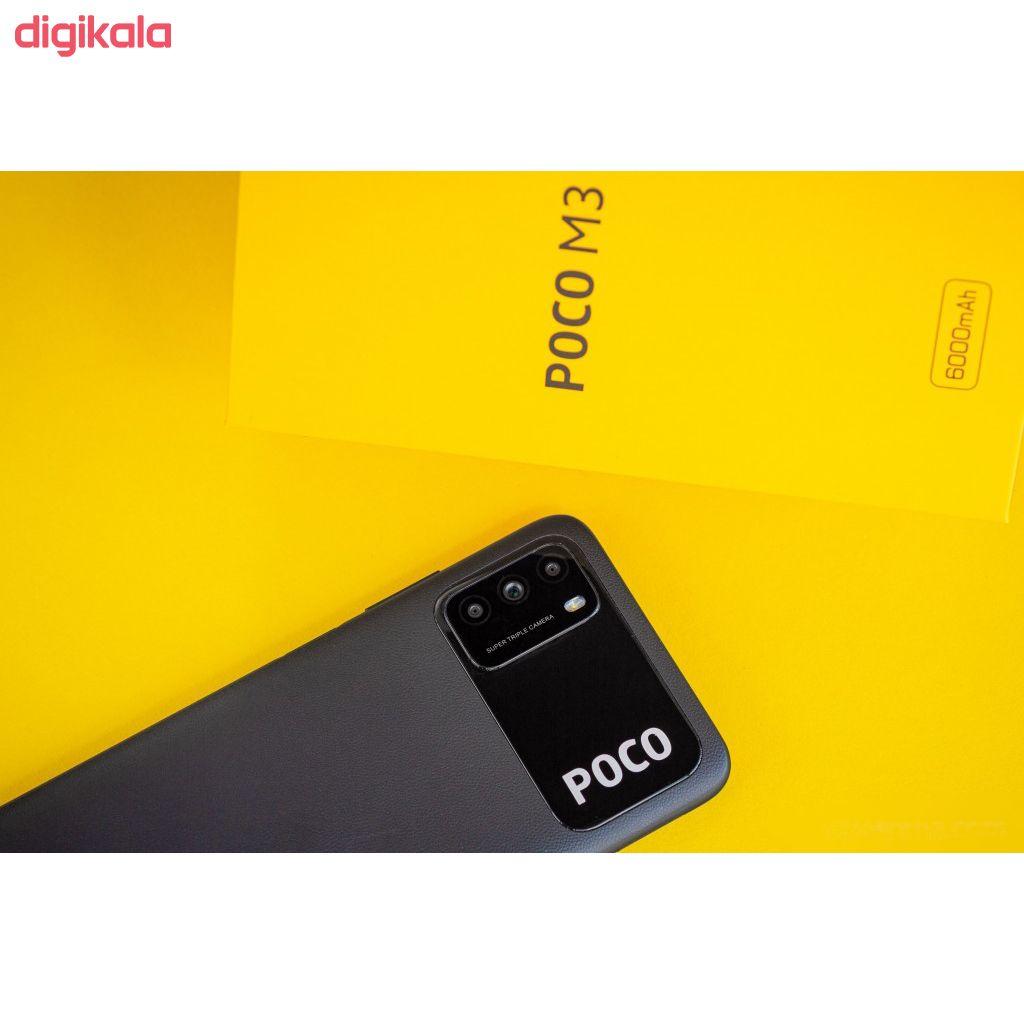 گوشی موبایل شیائومی مدل POCO M3 M2010J19CG دو سیم کارت ظرفیت 64 گیگابایت main 1 11