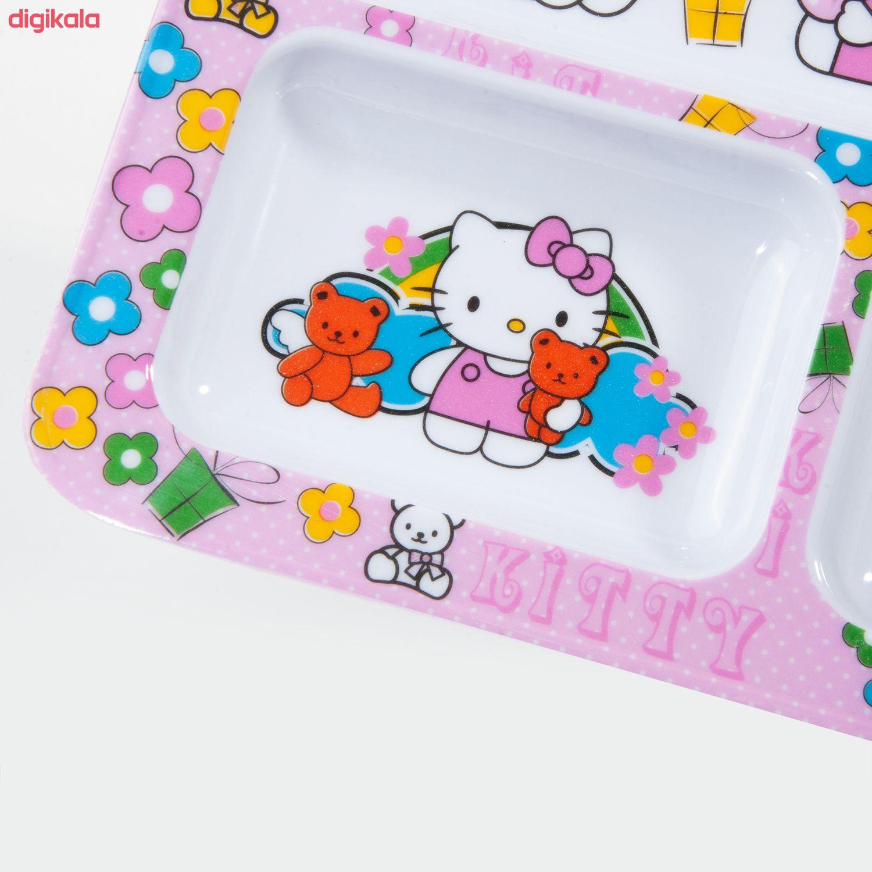 ظرف غذای کودک طرح Hello Kitty مدل 398 main 1 1