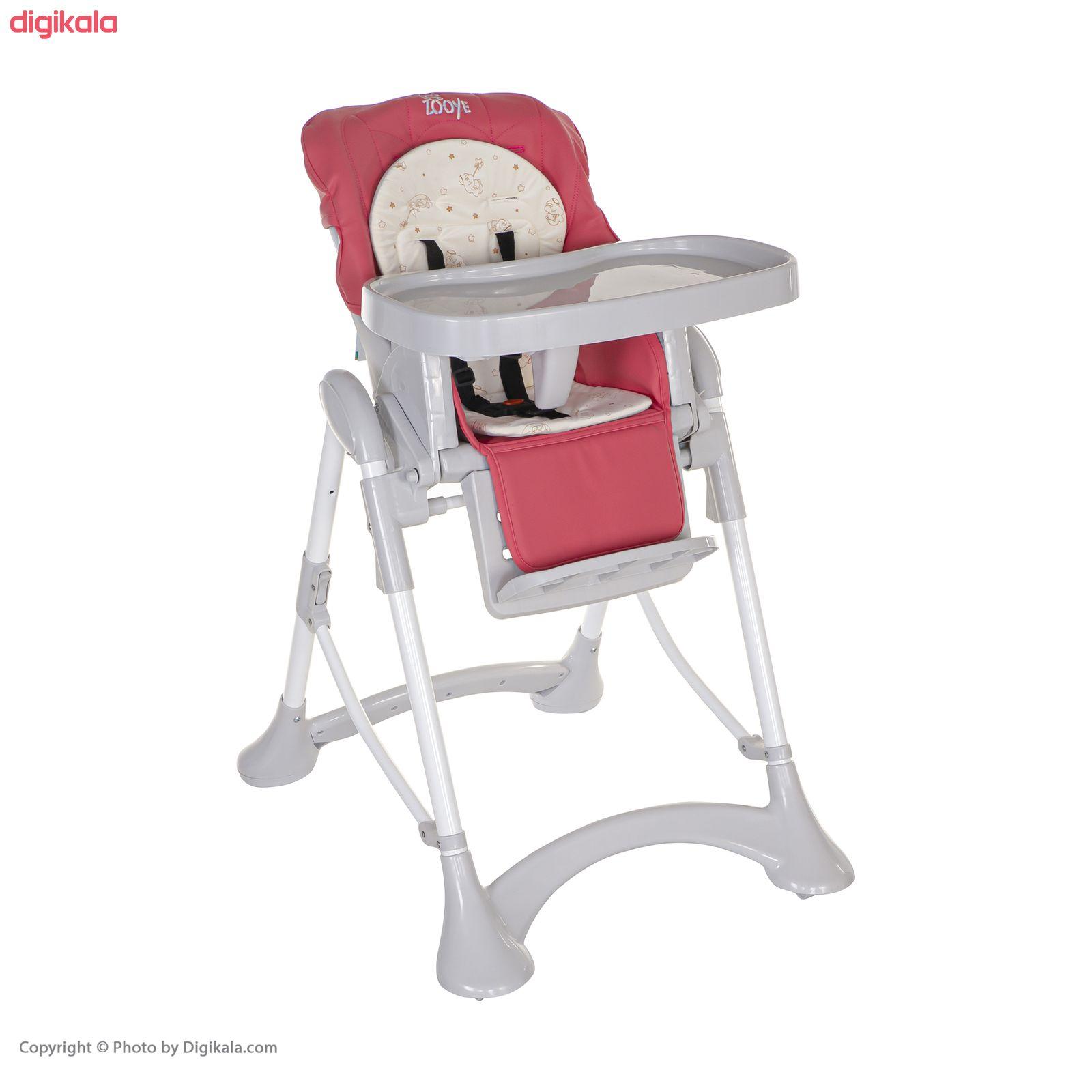 صندلی غذاخوری کودک زویی مدل Z110-2 main 1 12