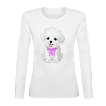 تی شرت آستین بلند زنانه کد TAB01-249