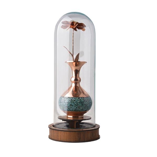گلدان فیروزه کوبی هنرلوکس مدل FG30
