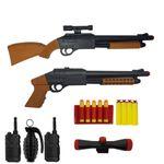 ست تفنگ بازی گلدن گان مدل naabsell-PA14 مجموعه 8 عددی
