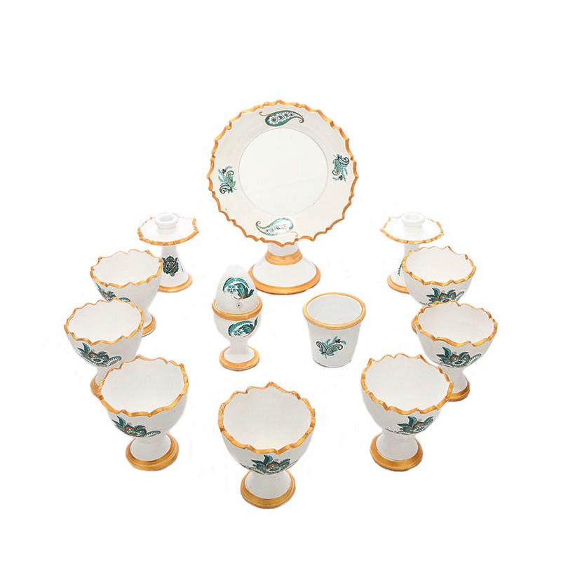 مجموعه ظروف هفت سین 13 پارچه کد NR-005