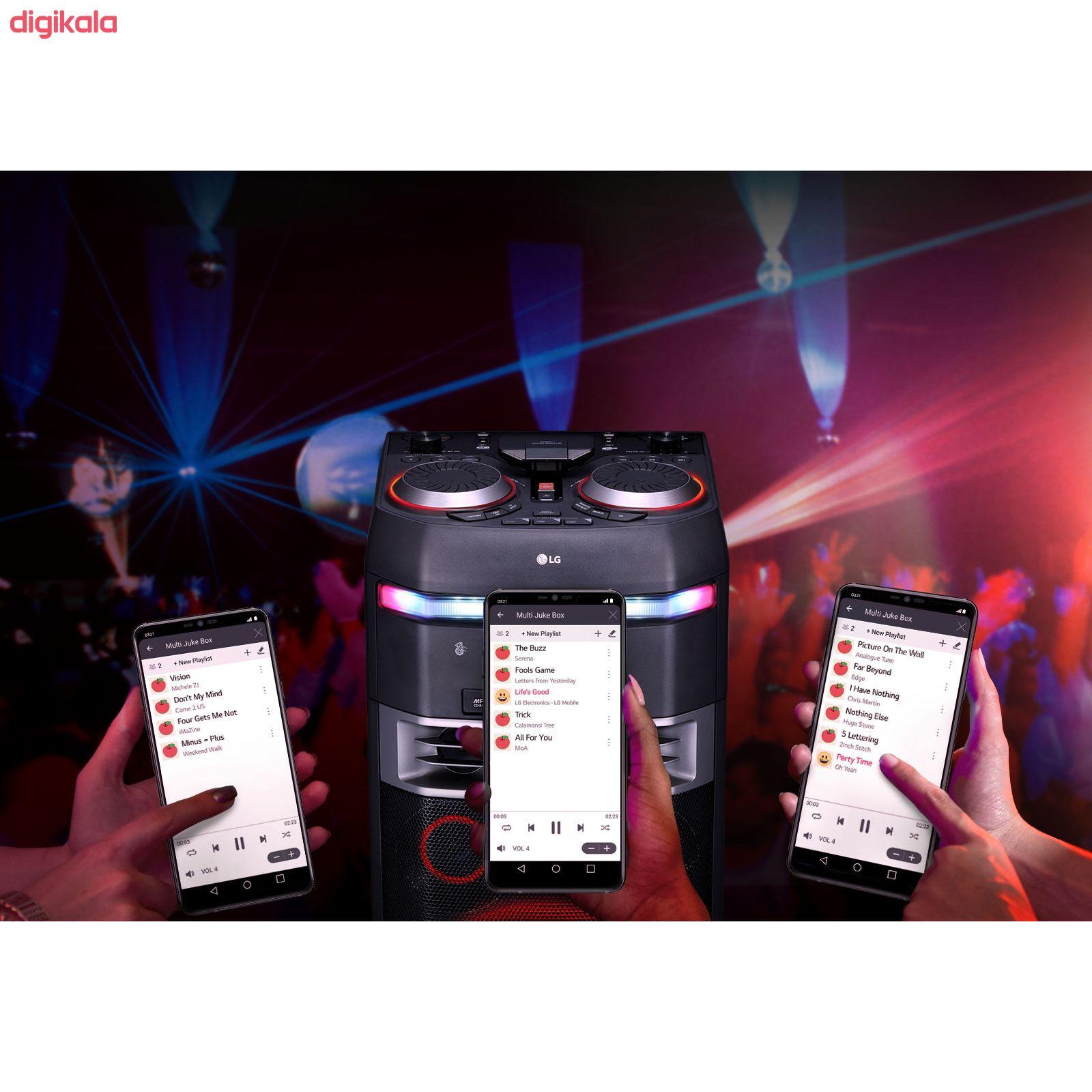سیستم صوتی ال جی مدل OK75 main 1 9